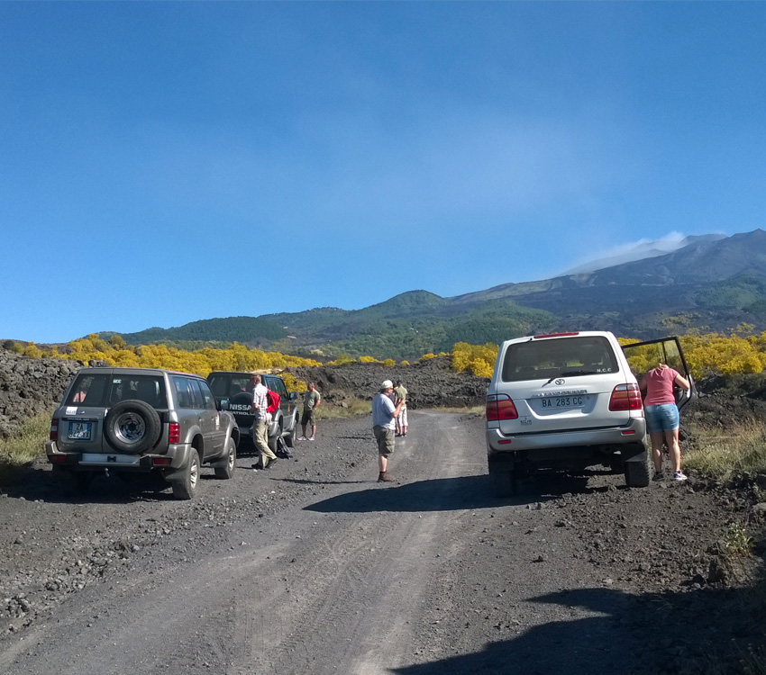 Etna Excursion: Off Road Etna