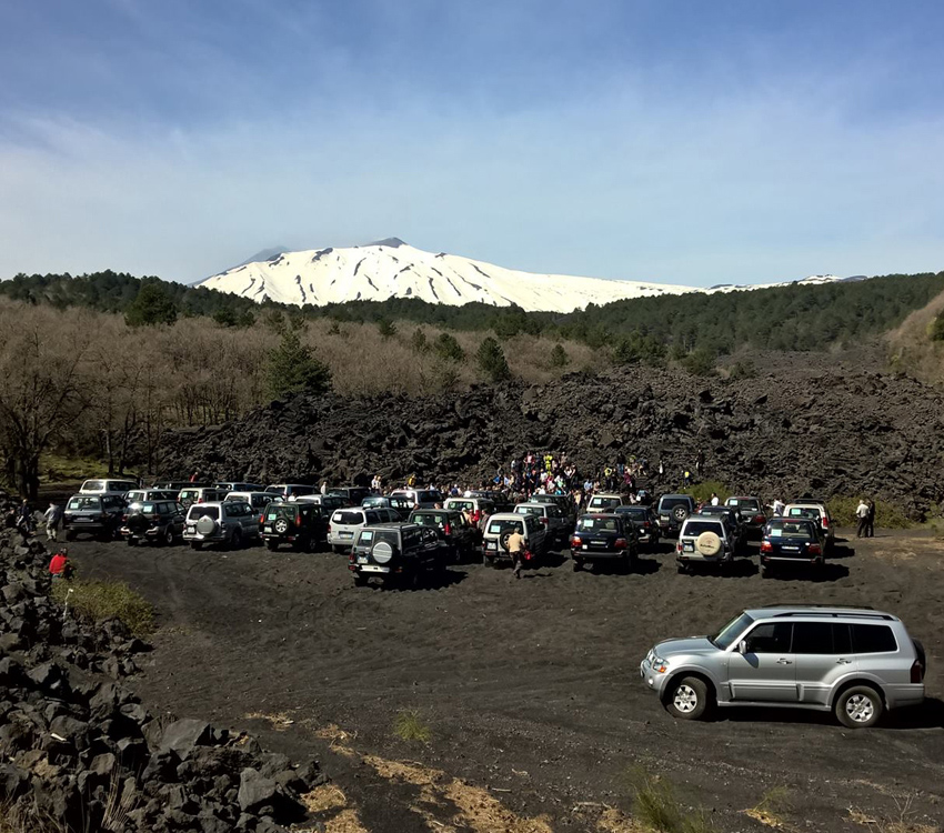 Etna Excursion: Rent a Car