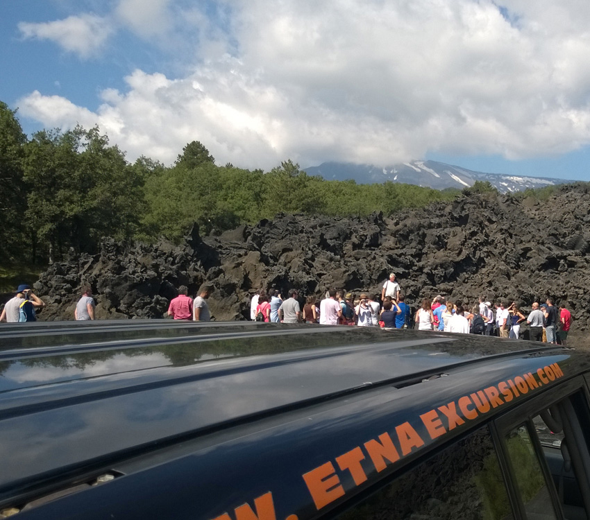 Etna Excursion: Team Building Ätna