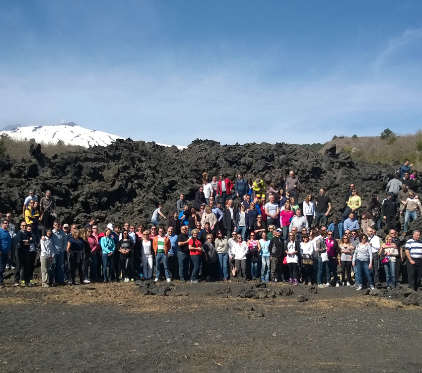 Etna Excursion: Team Building